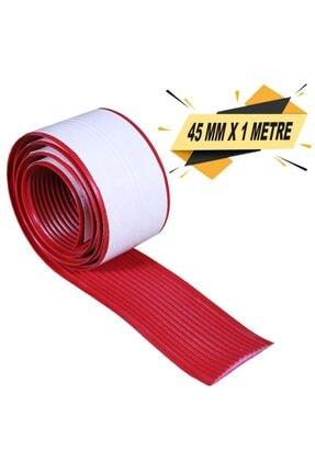 Badem10 Merdiven Zemin Kaydırmaz Bant Yapışkanlı Pvc Bant Kırmızı 45 Mm X 1 Metre