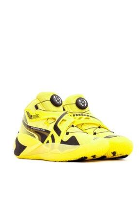 Puma Dısc Rebirth Porsche Yellow Basketbol Ayakkabısı