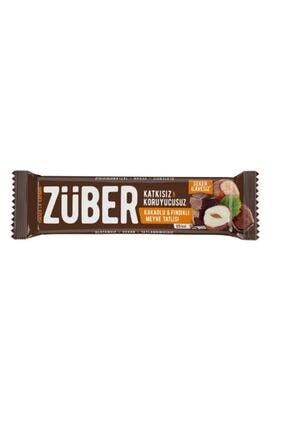Züber Fındıklı&kakolu Meyveli Bar 40 Gr Vegan,glutensiz ,şeker Ilavesiz