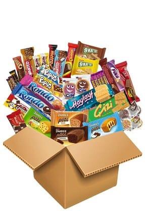Ülker Kalp Şekilli Benzeriz Çikolata Fırsat Paketi 62 Parça