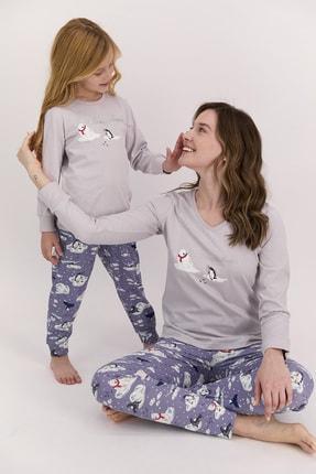 Arnetta Kadın Uzun Kol Baskılı Pijama Takımı (anne Kız Kombin Yapılabilir Fiyatları Farklıdır)