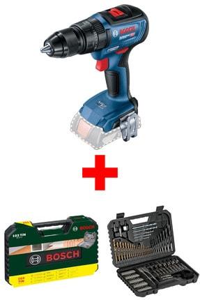 Bosch Gsb 18v-50 2.0ah Akülü Vidalama Makinesi (dıy-p 173 Parça Delme Ve Vidalama Seti Hediye)