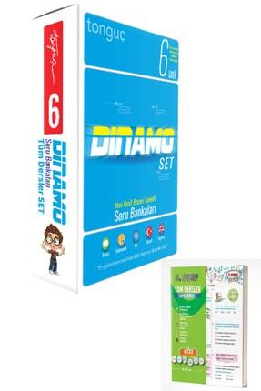 Tonguç Akademi 6. Sınıf Dinamo Tüm Dersler Soru Bankası Seti 6 Kitap 2021 Türkçe Matematik Fen Sosyal Ingilizce