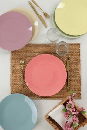 Keramika Mix Soft Ege Servis Tabağı 26 Cm 6 Adet