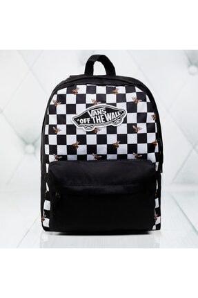 Vans Wm Realm Backpack Kadın Siyah Sırt Çantası Vn0a3uı6yzt1