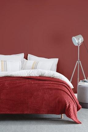 Yataş Bedding Holly Wellsoft Çift Kişilik Battaniye - Kiremit