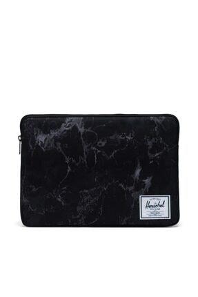 Herschel Supply Co. Laptop Kılıfı Anchor Sleeve For 15 Inch Macbook Black Marble