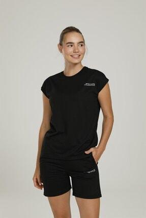 lumberjack Ct954 Anna Sleeveless T-s Siyah Kadın Kolsuz T-shirt