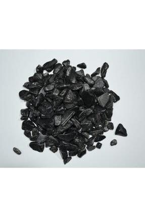 Güler Dekoratif Renkli Taş Siyah 1 Kg - Teraryum Akvaryum Taşı Renkli Çakıl Taşı