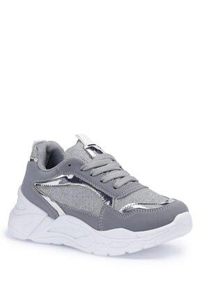 Polaris 612201.f1pr Gümüş Kız Çocuk Sneaker