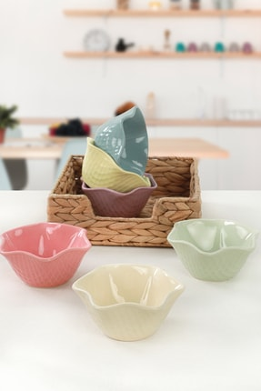 Keramika Soft Mix Roma Çerezlik / Sosluk 11 Cm 6 Adet
