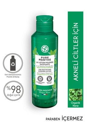 Yves Rocher Pure Menthe- Anında Matlık Sağlayan Pudralı Tonik- 150 ml