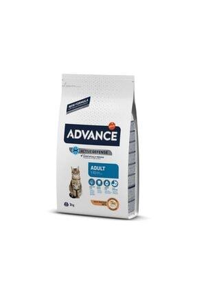 Advance Kışırlastırılmış Hindili Yetişkin Kedi Maması 3 kg