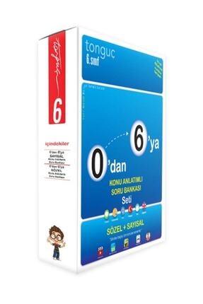 TONGUÇ AKADEMİ YAYINLARI Tonguç Yayınları 6. Sınıf 0'dan 6'ya Sayısal Sözel Konu Anlatımlı Soru Bankası Seti