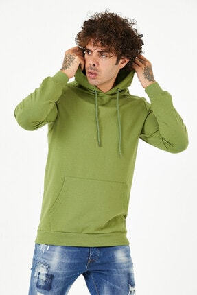 BREEZY Sweatshirt Kapüşonlu Basic