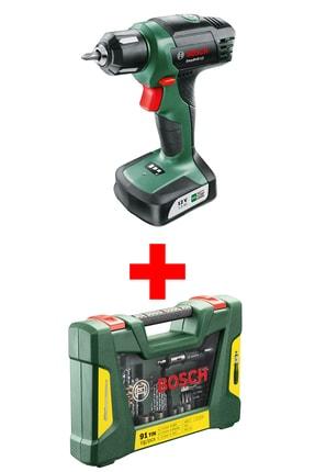 Bosch Easydrill 12 Akülü Vidalama Makinesi ( V-line 91 Parça Delme&vidalama Seti Hediye)