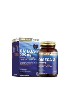 Nutraxin Omega 3 2000 Mg 60 Tablet