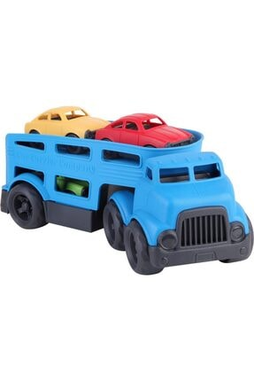 Zekice Taşıyıcı Tır ve Arabalar Mavi Ve Sarı Lisanslı Ürün