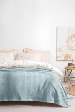 Yataş Bedding Holly Wellsoft Çift Kişilik Battaniye - Mint