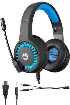 HP Dhe-8011um Siyah Gaming Oyuncu Mikrofonlu Kulaklık