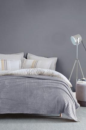 Yataş Bedding Holly Wellsoft Tek Kişilik Battaniye - Gri
