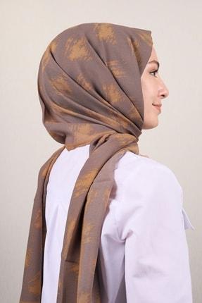 Modakaşmir Moda Kaşmir Desenli Touch Medine Ipeği Şal - Karışık Desen - Renk-37