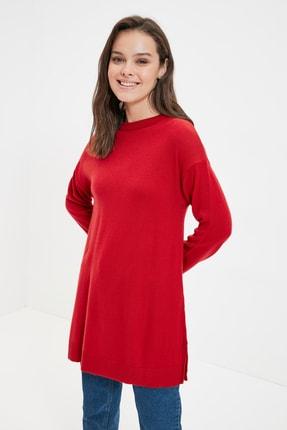 Trendyol Modest Kırmızı Triko Kazak TCTAW22AK0010