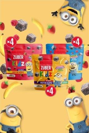 Züber Kidz Meyve Küpü Deneme Paketi - 12 Adet X 49 Gr