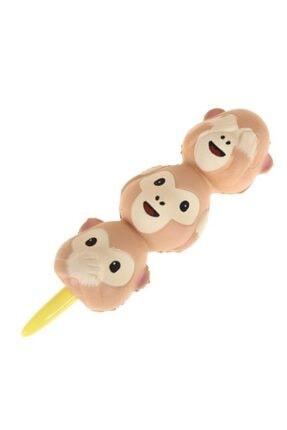Mürekkeps Üç Maymun Squishy Jel Kalem