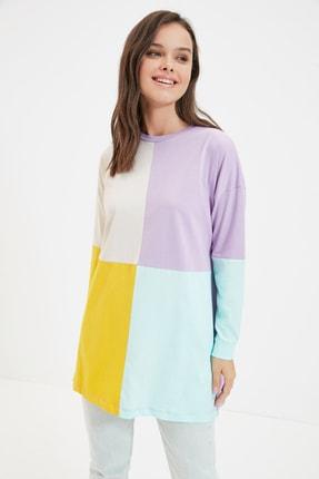 Trendyol Modest Çok Renkli Süprem Örme Tunik TCTAW22UK0063