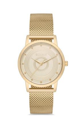 North West Gold Hasır Çelik Kordon Kadın Kol Saati ( Resmi Türkiye Distribütör Garantili)