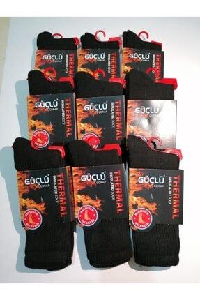 GÜÇLÜ 9 Çift Termal Çorap Max Sıcaklık Kar - Kışlık Çorap