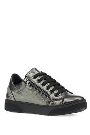 İnci Kadın Mukacev  1pr Gümüş Havuz Taban Sneaker