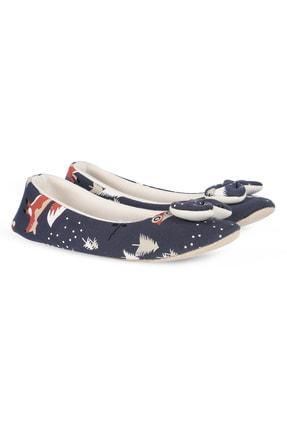 RedPlay Kadın Ev Ayakkabısı Ev Babeti Penye Kumaş