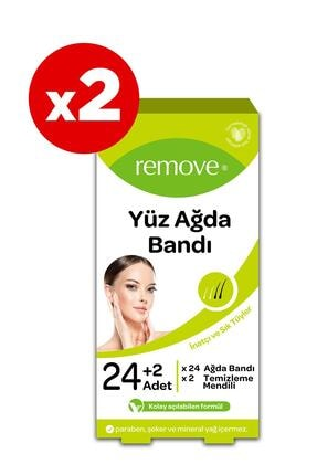 remove Yüz Ağda Bandı Inatçı Ve Sık Tüyler X2 Adet