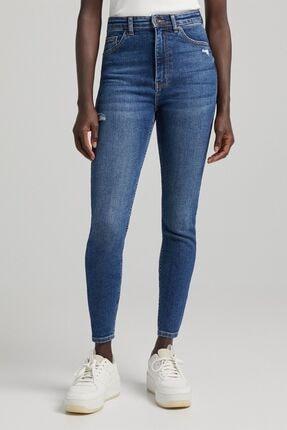 Bershka Süper Yüksek Bel Jean