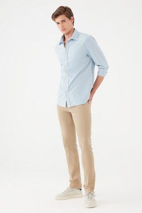 Mavi Erkek Jake Kahverengi Gabardin Pantolon 0042235224 0042235224