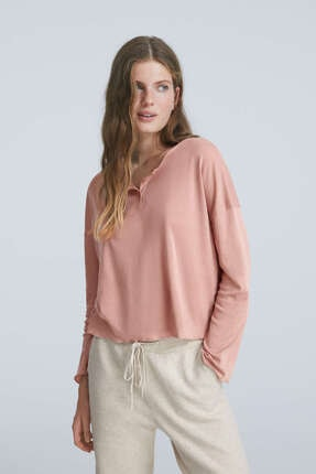 Oysho Uzun Kollu T-shirt