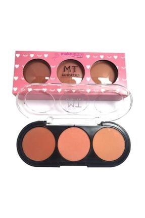 Makeuptime 3'lü Mat Allık