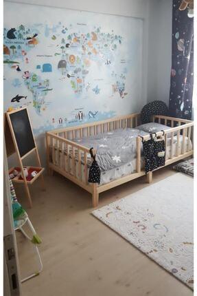 tresca Montessori Yatak Ahşap Montessori Yatak