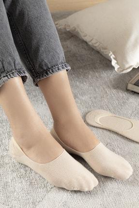 English Home Regular Pamuk 2'li Kadın Çorap Ten