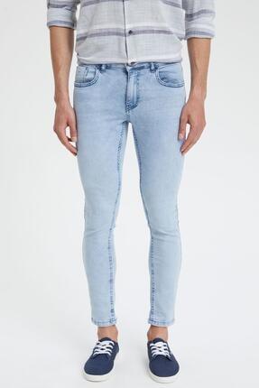 DeFacto Skinny Comfort Fit Normal Bel Dar Paça Jean Pantolon