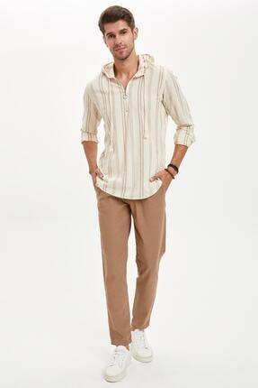 DeFacto Tailored Fit Keten Kumaş Pantolon