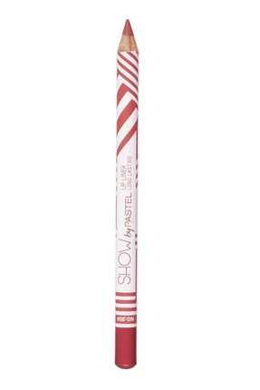 Pastel Dudak Kalemi  Show By Long Lasting Lip Pencil No 204 8690644009556