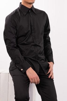Mondo Siyah Renk Uzun Kollu Gömlek
