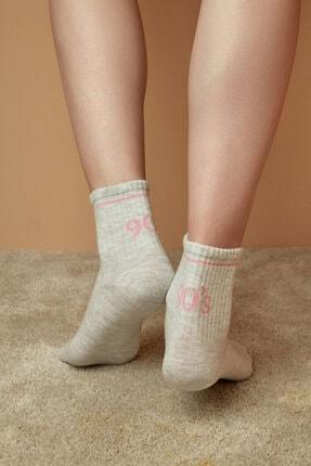 Penti Kar Melanj Cool 90s Soket Çorap