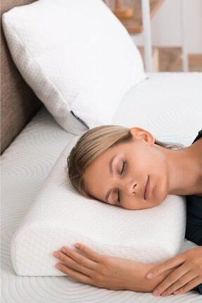 AnkaWood Visko Boyun Yastığı Viskon Yastık Visko Love Yastık Visko Yastık Ortopedik Yastık