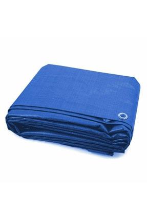 Edoplast 5x5 Metre Mavi Ebatlı Pvc Branda Gölgelik Su Geçirmez Çadır Branda Tente