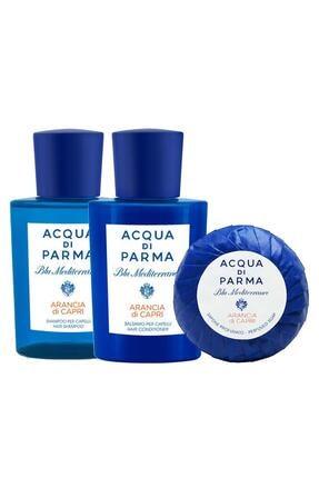 Acqua Di Parma Blu Mediterraneo 3'lü Saç Ve Vücut Bakım Seti