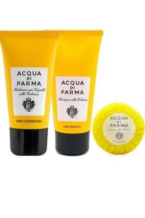 Acqua Di Parma 3'lü Saç Ve Vücut Bakım Seti